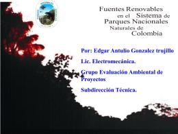 Presentación de PowerPoint - Parques Nacionales de Colombia
