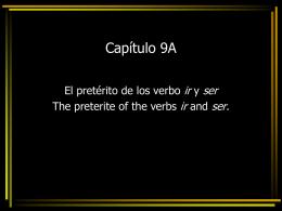 Capítulo 9A - Espanol THS