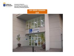 Presentación del CEP - Gobierno de Canarias