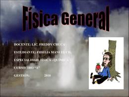 FÍSICA GENERAL - fideliamanuel