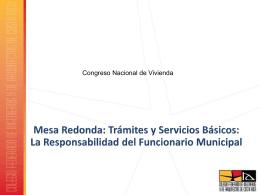 Tramites Y Servicios Basicos - Ing. Freddy Bolanos