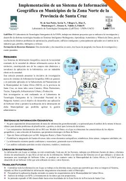 Poster Wicc SIXCO - UNPA-UACO