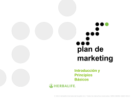 Fundamentos - distribuidor de productos Herbalife