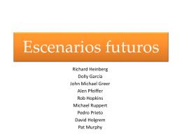 Escenarios Futuros 1 - Movimiento de Transición