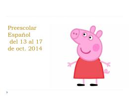 tareas de español de preescolar semana del 20 al