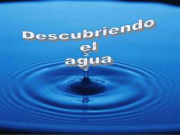 PPP Descubriendo el agua