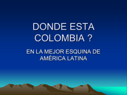 presentación Colombia diversa