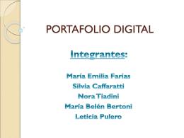 portafolio digital - Nuevas Tecnologías en el Contexto Educativo