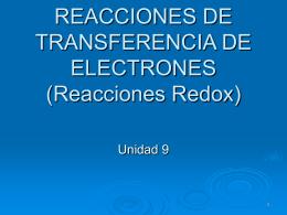 Reacciones Redox - IES Cerro del Viento