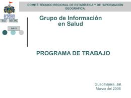 Sistema Estatal de Información Jal