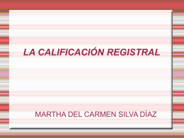 Calificacionregistral