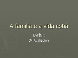 a familia romana