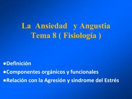Presentación de PowerPoint - FISIOLOGIA