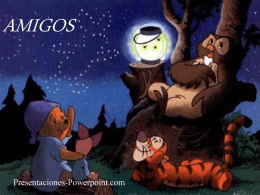 Amigos del Oso Pooh - Presentaciones Power Point