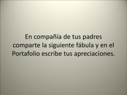 ANALISIS DE FABULA