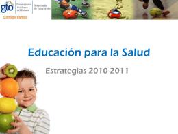 Educación para la Salud 2010-2011