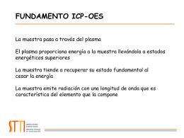 Instrumentación ICP-OES.