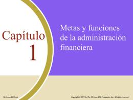 importancia de la administracion financiera