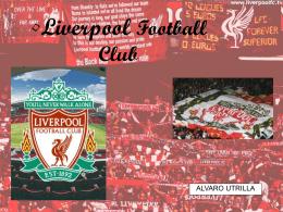 Presentacion Powert Point sobre el Liverpool FC