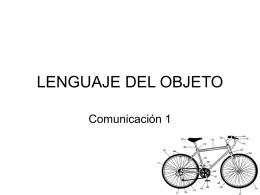 """Presentación """"Lenguaje del Objeto"""""""
