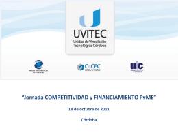 Diapositiva 1 - UIC Unión Industrial de Córdoba