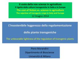 Piero Morandini - Web server per gli utenti dell`Università degli Studi