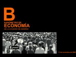Barómetro 22 y Madrid Economía 2009