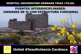 Puentes interdisciplinares: unidades de insuficiencia cardíaca con