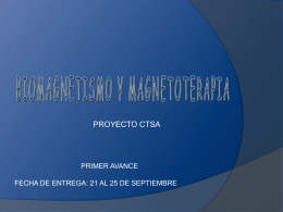 Proyecto Anual Primer Avance Ejemplo