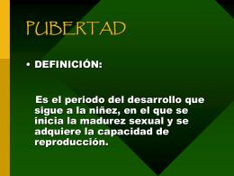 PUBERTAD - eTableros