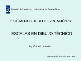 Escalas - Volantino - Universidad de Buenos Aires