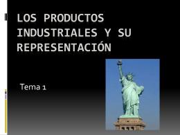 Los productos industriales. Álvaro G. y Álvaro L.