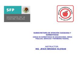 suspensión - Secretaría de la Función Pública