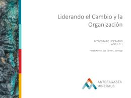 Presentación de PowerPoint - Liderando el Cambio y la Organización