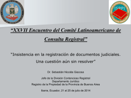 DOCUMENTO REGISTRABLE