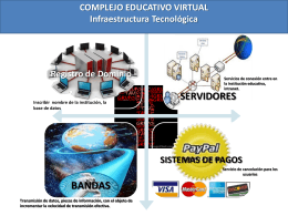 diagrama complejo educativo virtual