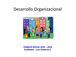 concepto organizaciones