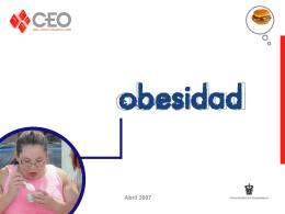 Presentacion obesidad - Centro de Estudios de Opinion