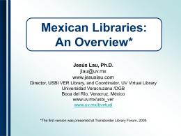 pon ALA Anaheim 08 - Mexican Libraries - Animacion