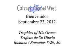 no me soltarás - Calvary Chapel West