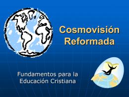 Cosmovisión reformada