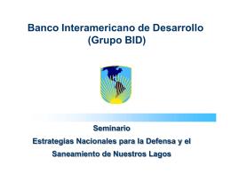 Presentación BID