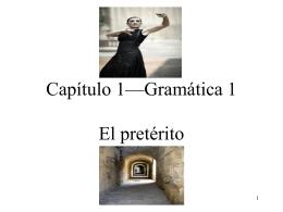 Capítulo 1—Gramática 1