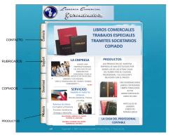 libros comerciales trabajos especiales tramites societarios copiado