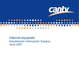 Actualización de Equipos Internet Equipado_Jun2007