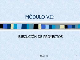 Módulo VII