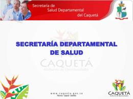 secretaría departamental de salud