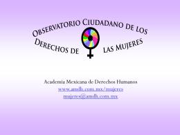 Gloria Ramírez y Adina Barrera. Informe 2008. Seguimiento a las
