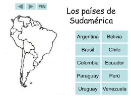 Sudamérica  - Sterling Public Schools