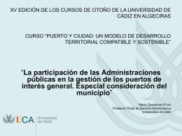 Diapositiva 1 - Universidad de Cádiz